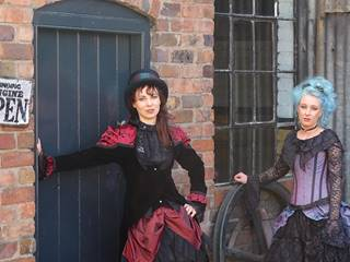 Steampunk Women by Door