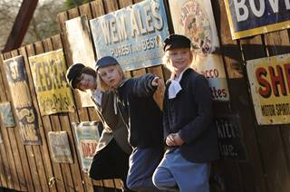 Blists Hill Street Kids, Blists Hill Victorian Town, Ironbridge