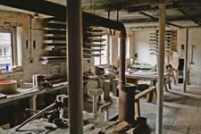 Broseley Pipeworks Interior machinery
