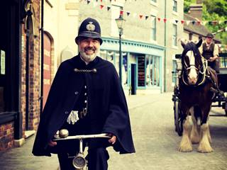 Victorian Policeman - Blists Hill Victorian Town, Ironbridge