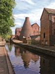 COALPORT CHINA MUSEUM-  View along the Canal