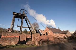 Blists Hill Victorian Town Pit Head and Outbuildings
