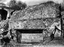 A historic photograph of The Old Furnace in Coalbrookdale before the cover building