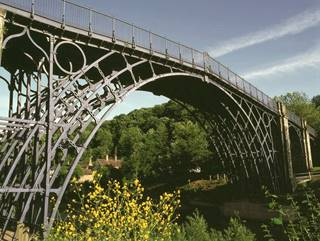 The Iron Bridge 3 - The historic bridge in summer - Ironbridge.jpg