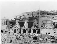 Historic photograph of the Blists Hill Furnaces - Ironbridge