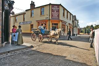 Horse and Cart - Blists Hill Victorian Town, Ironbridge