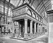 View of the Maw and Co. stand at the Chicago World Fair of 1893, designed by Charles Henry Temple.