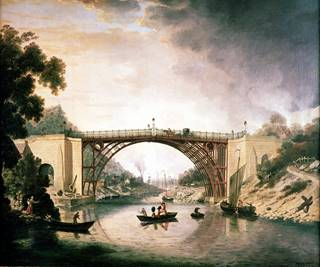 The Iron Bridge by William Williams