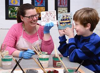 Jackfield Tile Museum 2 - Arts and Crafts children's activities - Ironbridge.jpg