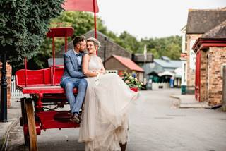 Wedding Couple at Blists Hill Victorian Town