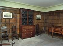 Abraham Darby III's Study at Dale House, where work on the Iron Bridge may have been planned.